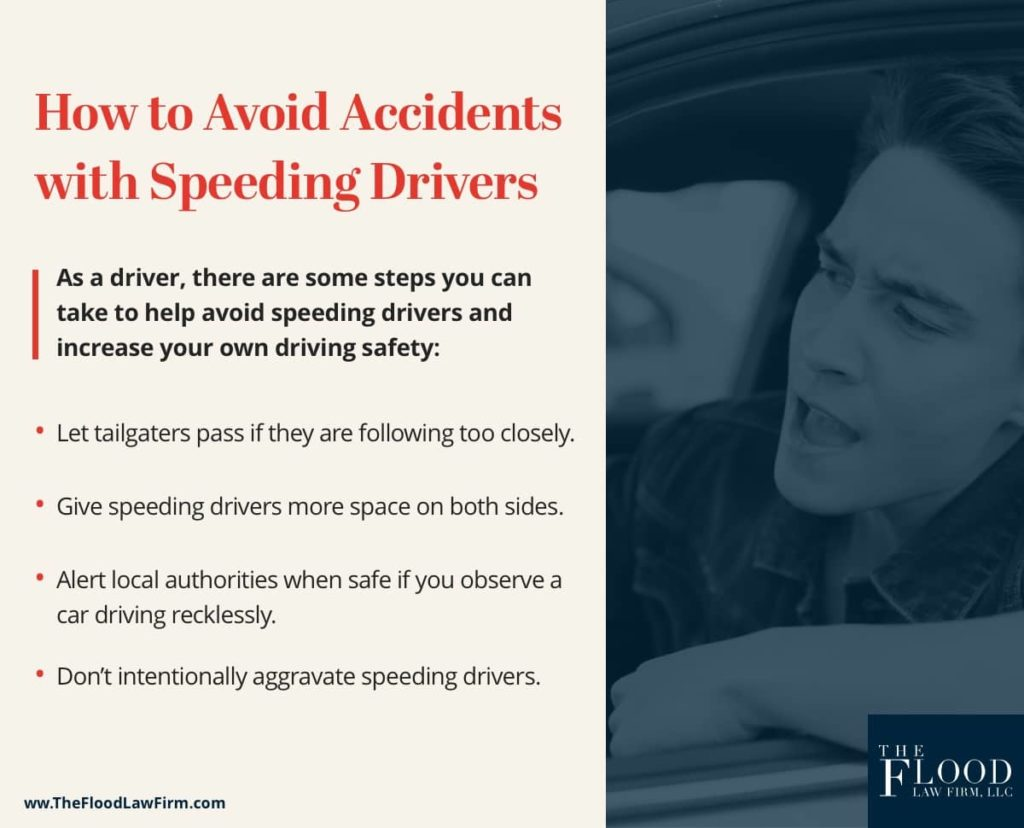 How to Avoid Drivers Who Go Too Fast | The Flood Law Firm
