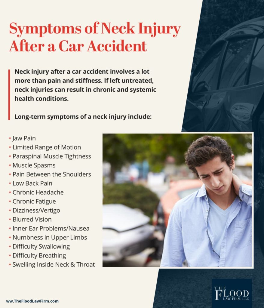 What Do Neck Injury Symptoms Mean After a Car Accident?   The Flood Law Firm